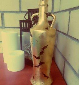 Декор. Бутылки для интерьера