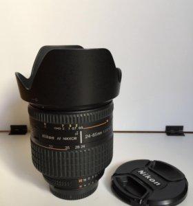 Nikon AF Nikkor 24-85mm 12.8-4 D IF Aspherical Mac