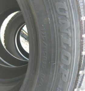 Зимнии шины Dunlop 175/65R15