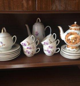 Сервиз на 6 персон чай
