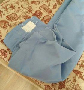 Гардины цвет св. джинс пара 265*200