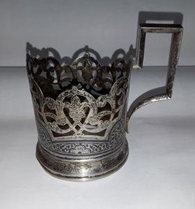 Подстаканник серебряный, СССР