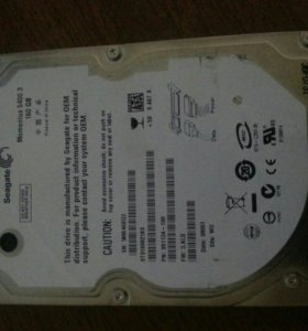 Жесткий диск для ноутбука Seagate 160Gb
