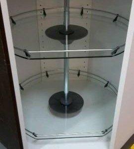 РАТИОНЕЛЬ Вращ секция нвсн шкафа, стекло