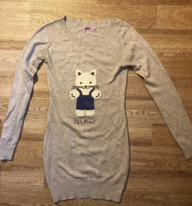 Платье-свитер