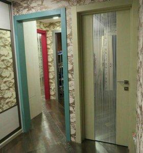 Дверь с зеркалом Рейн