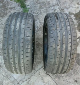 Две покрышки continental 225/45r17