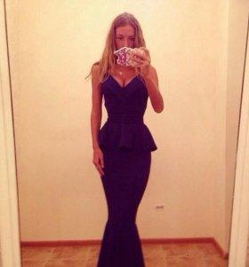 Вечернее платье Золотой песок