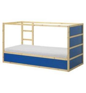 двухъярусная кровать кюра