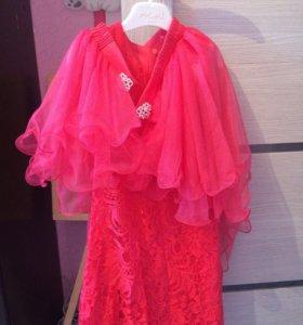Платье 134 см