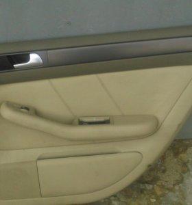 Обшивка задней двери Ауди А6 Авант 2002