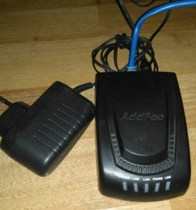 Шлюз ip-телефонии AddPac AP100B