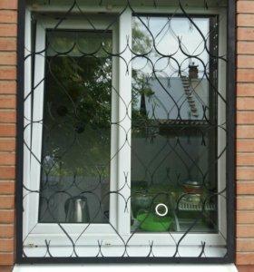 Решётки на окна б/у