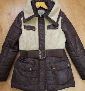 Зимняя куртка пуховик 46-48