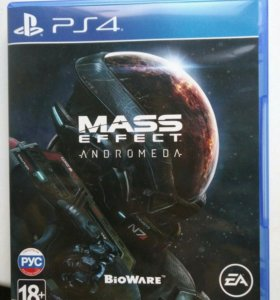 Диск Mass Effect Andromeda PS4