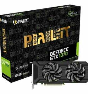 Видеокарта GeForce GTX1070 DUAL 8ГБ GDDR5 256bit
