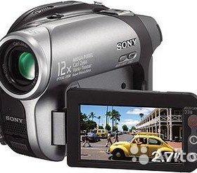 Продам видеокамеру sony handycam DVD202E