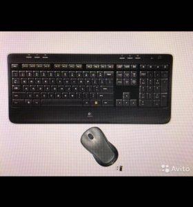Клавиатура +мышь