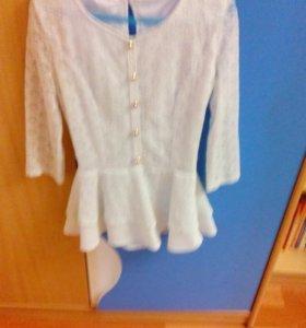 Блуза школьная.