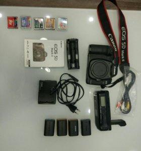 Камера Canon 5D mark II body и комплект