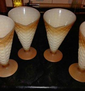 Стаканчики для мороженого.