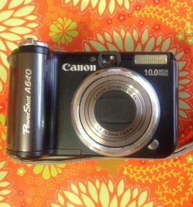 фотоаппарат Canon PowerShot A640 (донор)