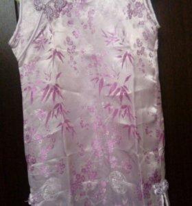 Платье из шелка новое