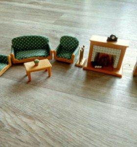 Игрушечная мебель для домиков.