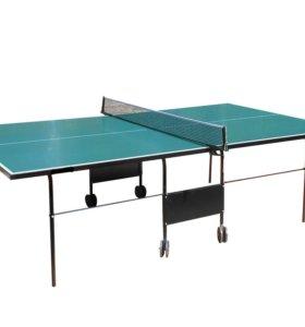 Теннисный стол Standart Outdoor всепогодный (бесплатная доставка, 2000 руб. в подарок)
