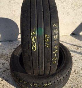 Пара шин Dunlop SP Sport Maxx GT 255/45 R20