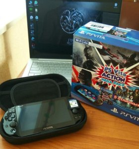 PlayStation Vita Sony Wi-Fi+8GB+промокод Action MegaPack PCH-2008