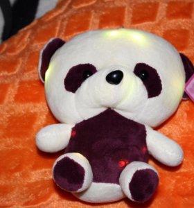 Мягкая игрушка панда(ночник)