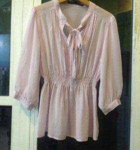 Блуза бледно-Розовая клеопатра
