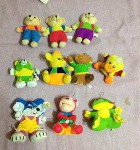 Детские мягкие игрушки новые