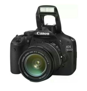 Фотоаппарат canon 550d eos kit 18-55mm