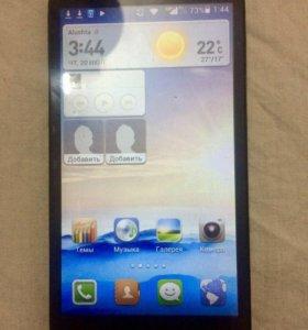 Фаблет Хуавэй джи 730 экран 5.5
