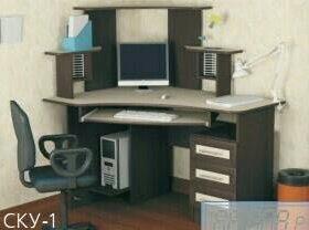 Угловой компьютерный стол 1