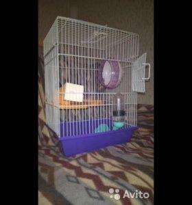 Клетка для мышей или хомяков