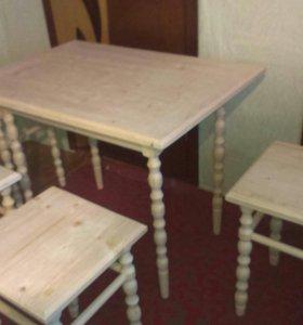 Мебель и многое другое из массива дерева на заказ