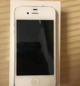 Продам iPhone 4s и чехол зарядку к нему