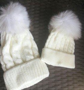 Комплект шапок