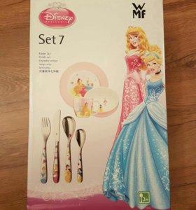 Новый набор детской посуды WMF 7 предметов