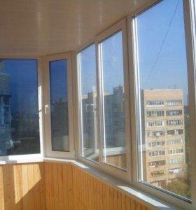 Металлопластиковые двери окна балконы