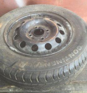 Запасное колесо форд фокус 1