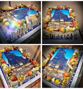 Съедобная картинка для тортов,капкейков,пряников.