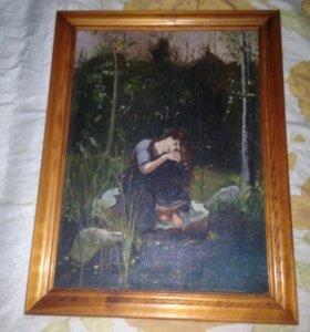 Продам картину Аленушка.