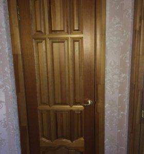 Двери глухая на 60 и 3 двери с стеклом
