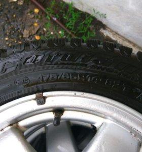Зимние шины CORDIANT SNOW-MAX, 175/65 R14 на литье