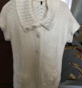 Кардиган и блуза