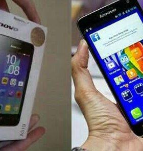 Телефон марки - Lenovo A319